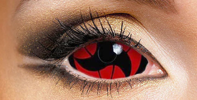 Itachi Mangekyo Sclera Lenses USA from Naruto