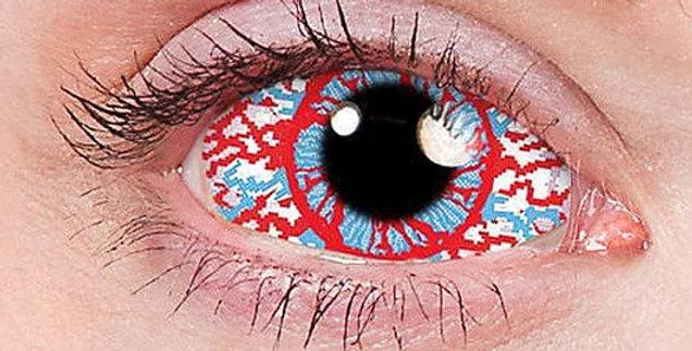 Mesmero Bloodshot Sclera Contacts
