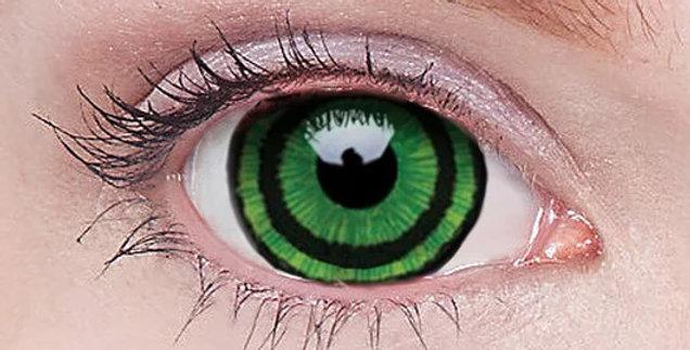 Green Goblin 17mm Mini Sclera Contacts USA