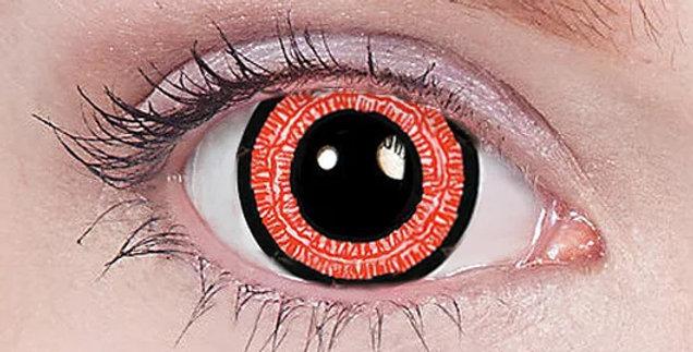 Ravenous anime red mini sclera contact lenses