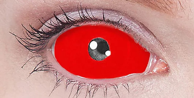 Red Lucifer Cyclops Sclera Contacts USA