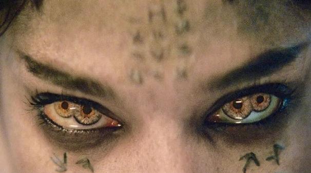 Ahmanet Movie Still shot of double eyes