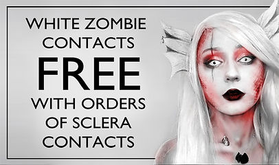 Free White Zombie Contacts