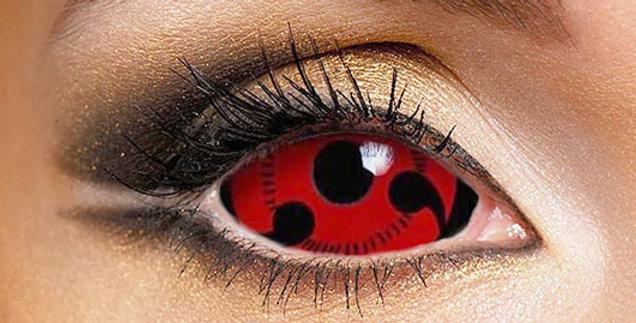 Uchiha Sharingan Lvl 3 Sclera Contact Lenses