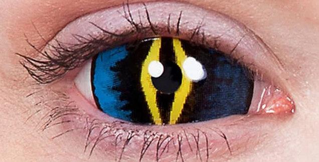 Xorn Alien Sclera Contact Lenses Closeup USA