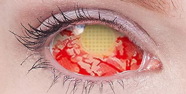 Patient Zero Infected Zombie sclera contact lenses
