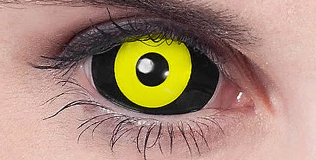 Black and Sclera Sclera Contacts USA