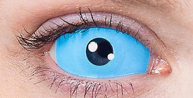 Light Blue Sclera Contact Lenses USA