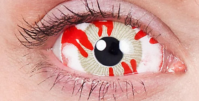 Contagion Infected Sclera Contacts