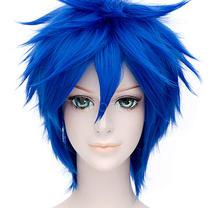 "Blue ""Messy Hair"" wig"