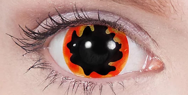 Blackhole Sun Mini-Sclera Contacts