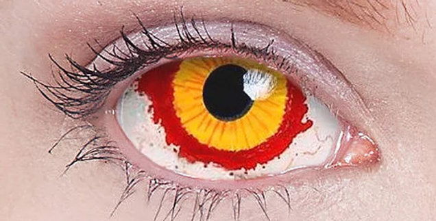Fever - Sith Lord sclera contact lenses USA sale