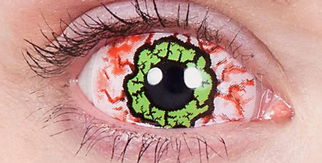 Kurse Infected Sclera Contacts