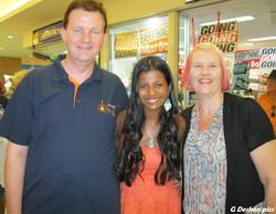 With Brendan and Glenda Deshon