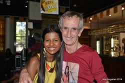 With Bob Mcgahan