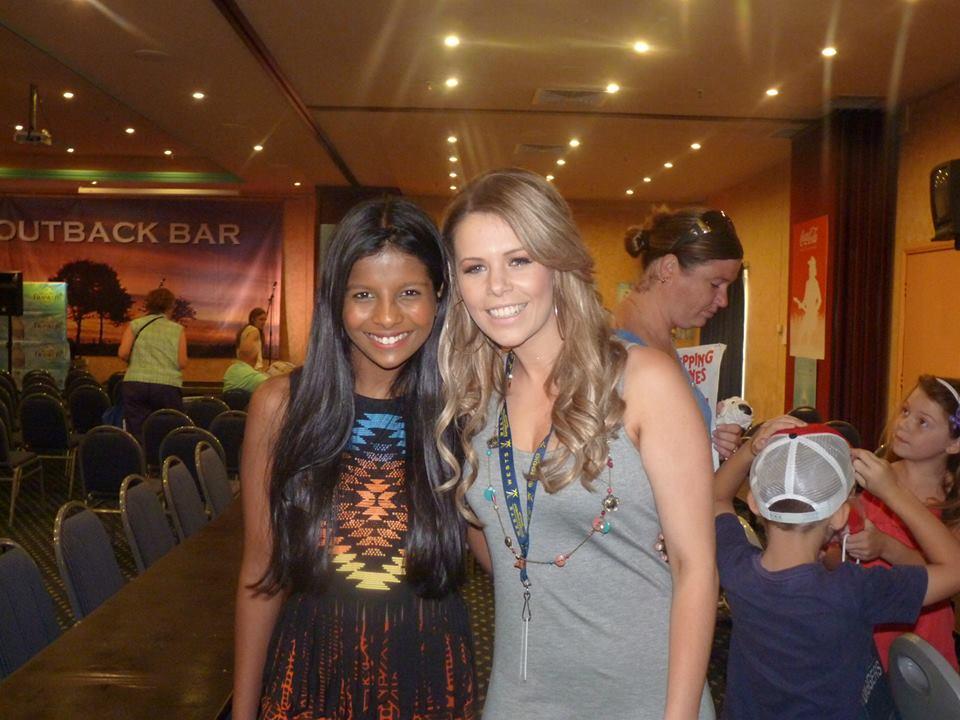 With Tori Darke