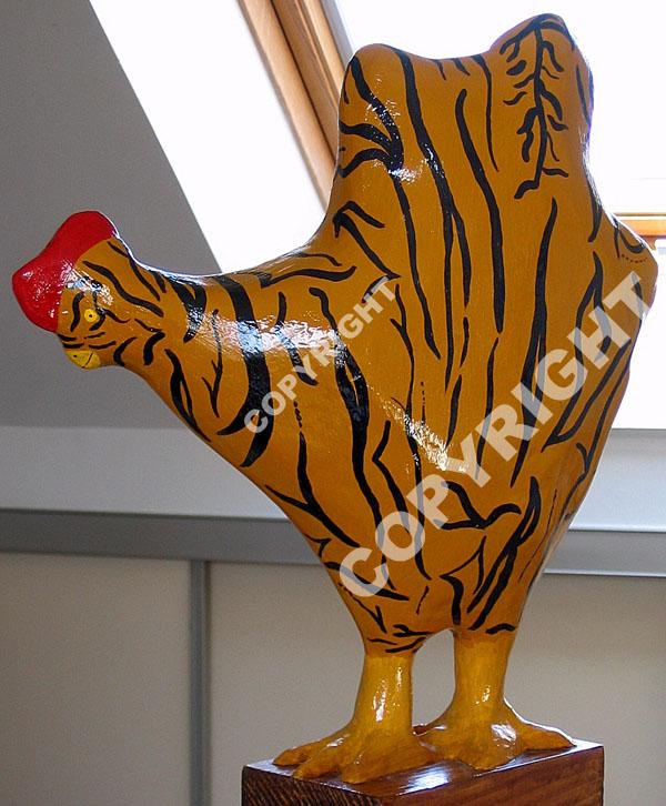Poule+tigrée