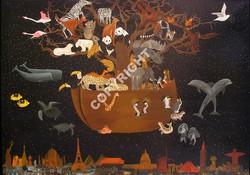 Arche+de+Noé+acrylique+sur+toile+65x50+cm.jpg