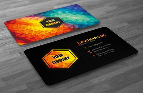 Business cards stylish professional eye catching print ready business cards stylish professional eye catching print ready 2 sided colourmoves Images