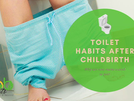 Toilet habits after childbirth