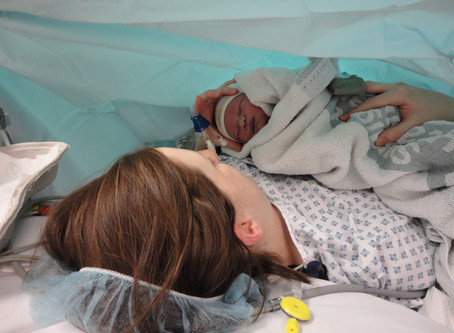What to expect after a Cesarean Section