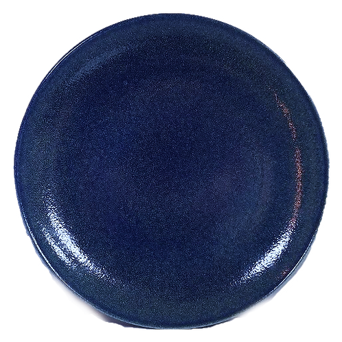 Coupe Plate, 24 cm - Ariane Cobalt Blue (Set of 6)