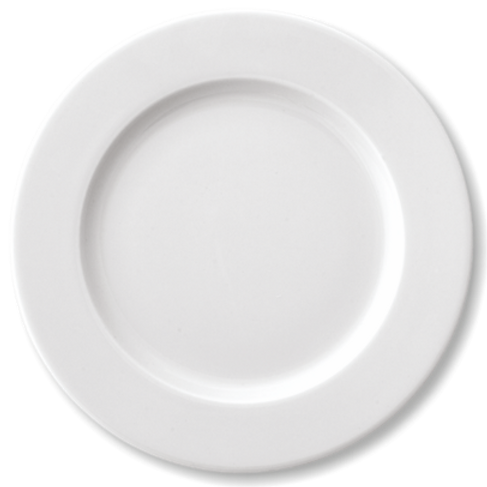 Plate, Round Flat, 27 - Ariane Prime (Set of 12)