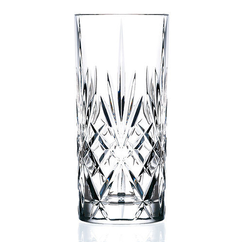 Tall Drink Glass, 36 cl - RCR Melodia (Set of 6)