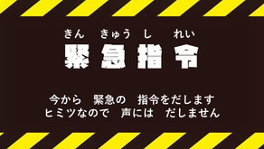 【カブ隊】緊急指令(オンライン集会)