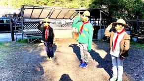【ボーイ隊】新生ボーイ隊始動「秋キャンプ」