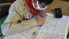 【ボーイ隊】地図とコンパス・読図に挑戦!