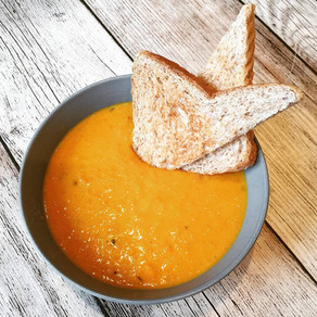 Möhren Kokos Suppe - vegan