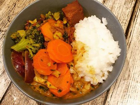 Veganes Curry mit Jackfruit
