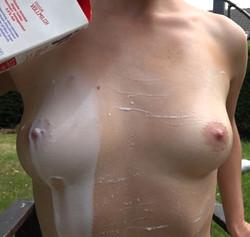 Mit Milch