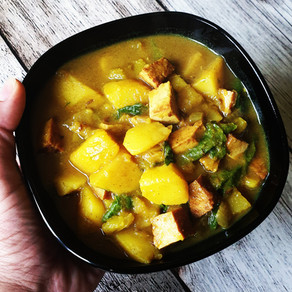 One-Pot Kartoffelcurry Vegan