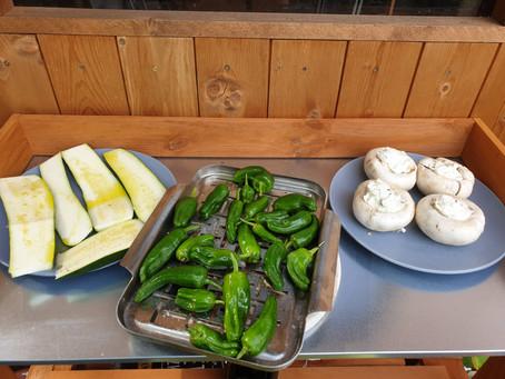 Gegrilltes Gemüse - vegan / vegetarisch grillen