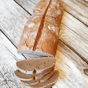 Reines Roggen Sauerteig Brot ohne Hefe