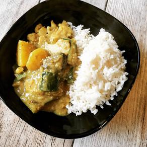 Veganes Korma Curry