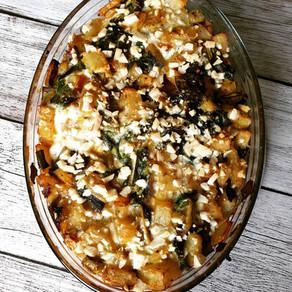 Kartoffelauflauf nach Art spanischer Tortilla