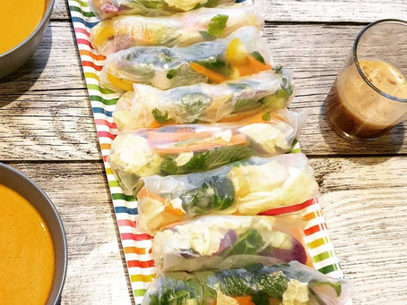 Vegan: Vietnamesische Sommerrollen ohne Tofu