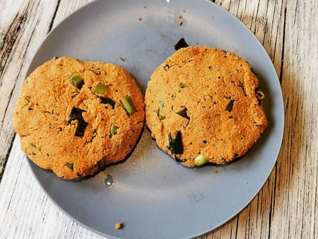 Vegane Burgerpatties / Vegane Tofu Frikadellen