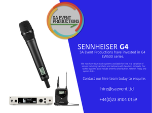Radio Microphone Hire Hampshire