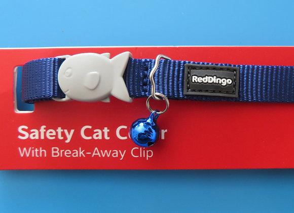 Red Dingo Plain Classic Cat Collar