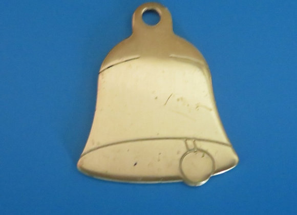 Brass Bell  Cat/Dog Tag
