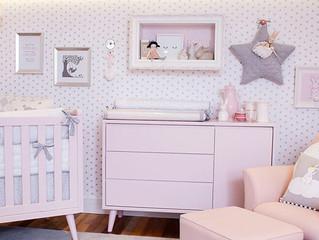 Dicas na hora da escolha do Papel de Parede do quarto do seu Bebê!