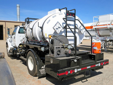 Tiger Manufacturing Single Axle Treater Truck