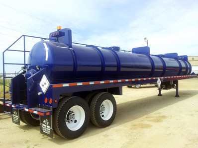 130 BBL Steel Vacuum Transport