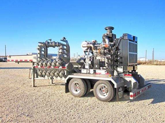 Tiger Manufacturing Custom Built Transfer / Charge Pump Transport Trailer