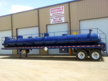 Tiger Manufacturing DOT 407/412 130 BBL Steel Vacuum Transport Trailer