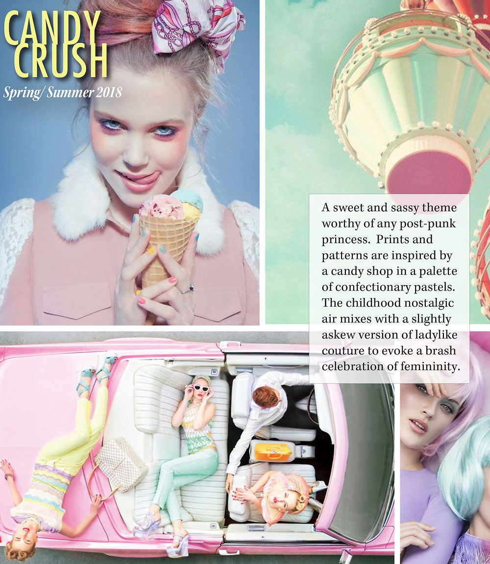 Candy Crush Spring 2018 trend report